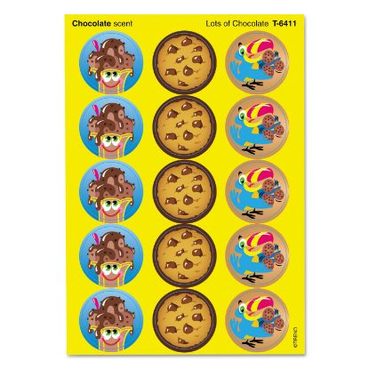 Picture of Stinky Stickers Themed Variety Sheet, Chocolate Treats, 60/Pack