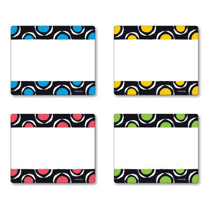 Picture of Terrific Labels, 2 1/2 x 3, 4 Assorted Designs, 36 Labels
