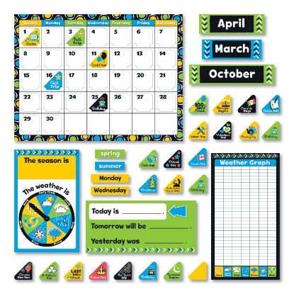 """Picture of Bold Strokes Calendar Bulletin Board Set, Assorted, 18 1/4"""" x 31"""""""