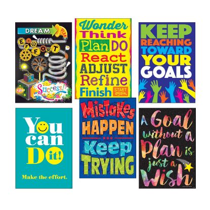 """Picture of ARGUS Poster Combo Pack, """"Goal-Getter"""", 13 3/8w x 19h"""