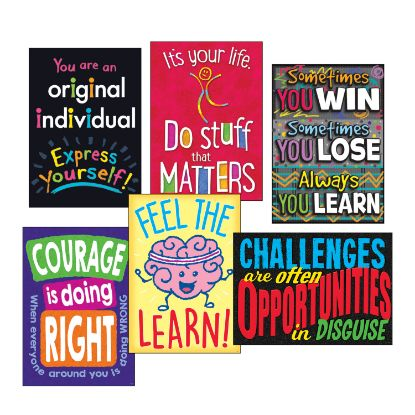 """Picture of ARGUS Poster Combo Pack, """"Life Lessons"""", 13 3/8w x 19h"""