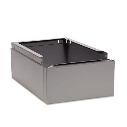 Picture of Optional Locker Base, 12w x 18d x 6h, Medium Gray