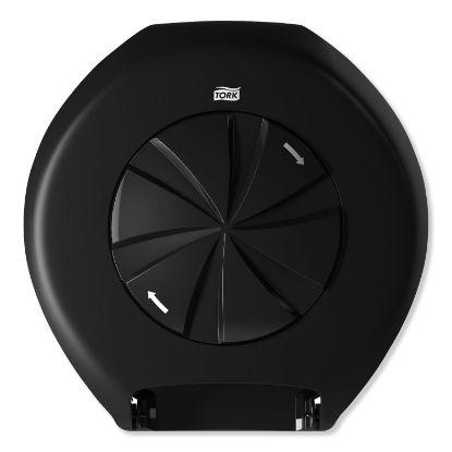 Picture of 3 Roll Bath Tissue Roll Dispenser for OptiCore, 14.12 x 6.31 x 14.56, Black