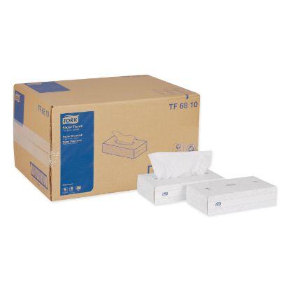 Picture of Advanced Facial Tissue, 2-Ply, White, Flat Box, 100 Sheets/Box, 30 Boxes/Carton