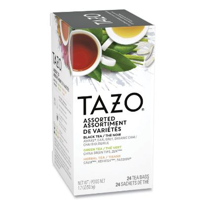 Picture of Assorted Tea Bags, Three Each Flavor, 24/Box