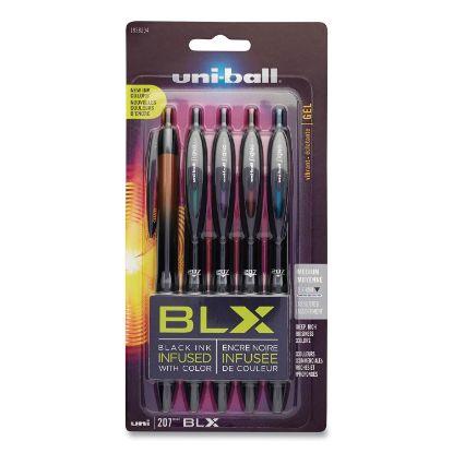 Picture of 207 BLX Series Retractable Gel Pen, Medium 0.7 mm, Assorted Ink/Barrel, 5/Pack