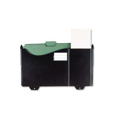 Picture of Add-On Pocket for Grande Central Filing System, Plastic, Black