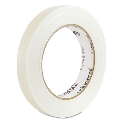 """Picture of 120# Utility Grade Filament Tape, 3"""" Core, 18 mm x 54.8 m, Clear"""