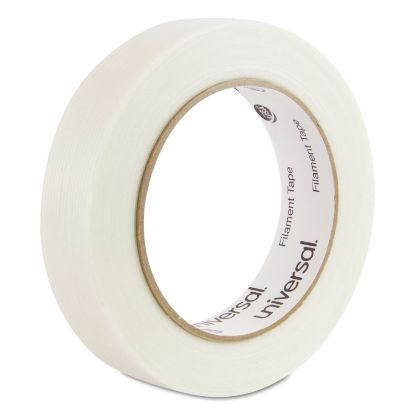 """Picture of 120# Utility Grade Filament Tape, 3"""" Core, 24 mm x 54.8 m, Clear"""