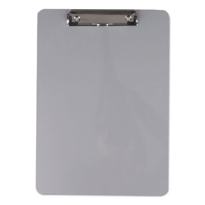 """Picture of Aluminum Clipboard with Low Profile Clip, 1/2"""" Capacity, 8 x 11 1/2 Sheets"""