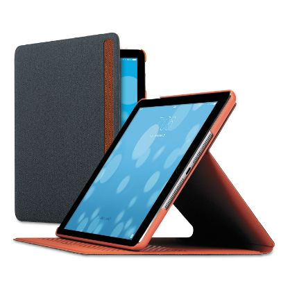 Picture of Austin iPad Air Case, Polyester, Gray/Orange