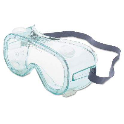 Picture of A610S Safety Goggles, Indirect Vent, Green-Tint Fog-Ban Lens