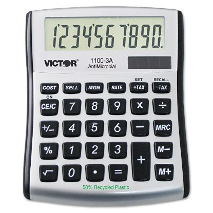 Picture of 1100-3A Antimicrobial Compact Desktop Calculator, 10-Digit LCD