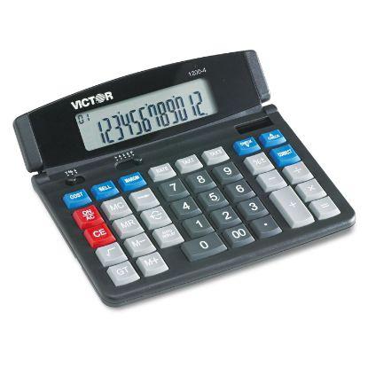 Picture of 1200-4 Business Desktop Calculator, 12-Digit LCD