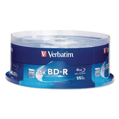 Picture of BD-R Blu-Ray Disc, 25GB, 16x, 25/Pk