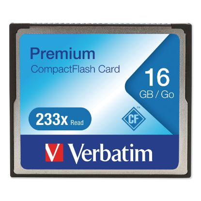 Picture of 16GB 233X Premium CompactFlash Memory Card