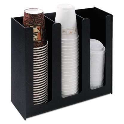Picture of Cup Holder, 12 3/4w x 4 1/2d x 11 3/4d, Black