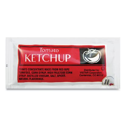 Picture of Condiment Packets, Ketchup, 0.25 oz Packet, 200/Carton