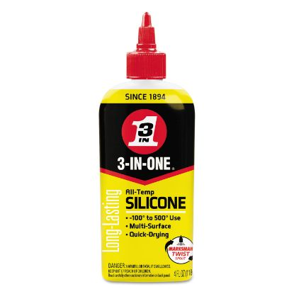 Picture of 3-IN-ONE Professional Silicone Lubricant, 4 oz Bottle, 12/CT