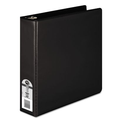 """Picture of 362 Basic Round Ring View Binder, 3 Rings, 2"""" Capacity, 11 x 8.5, Black"""