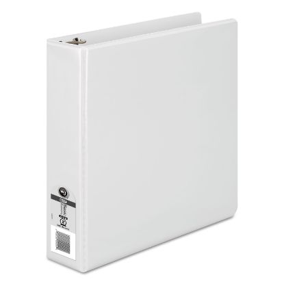 """Picture of 362 Basic Round Ring View Binder, 3 Rings, 2"""" Capacity, 11 x 8.5, White"""