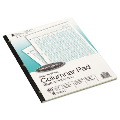 Picture of Accounting Pad, Eight Six-Unit Columns, 8-1/2 x 11, 50-Sheet Pad