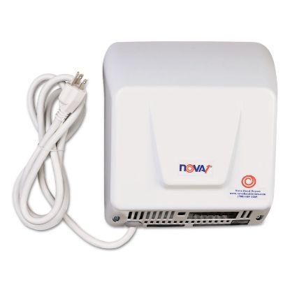 Picture of NOVA Hand Dryer, 110-120V, Aluminum, White