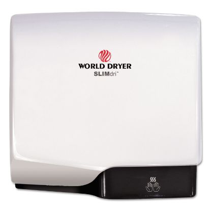 Picture of SLIMdri Hand Dryer, Aluminum, White