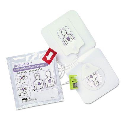 Picture of Pedi-padz II Defibrillator Pads, Children Up to 8 Years Old, 2-Year Shelf Life