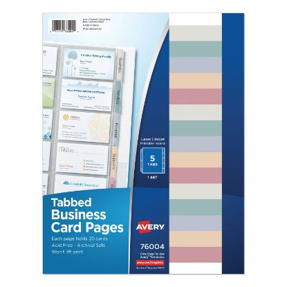 Picture of Avery® Business Card Pages