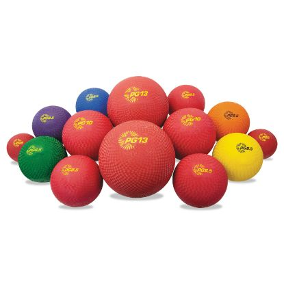 Picture of Champion Sports Multi-Size Playground Ball Set